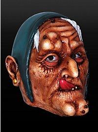 Üble Hexe Maske aus Latex