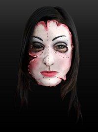 Patchwork Girl Latex Half Mask