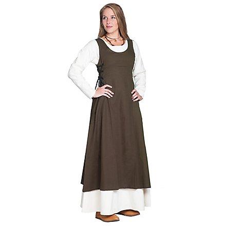 Ärmelloses Mittelalter Kleid - Selene
