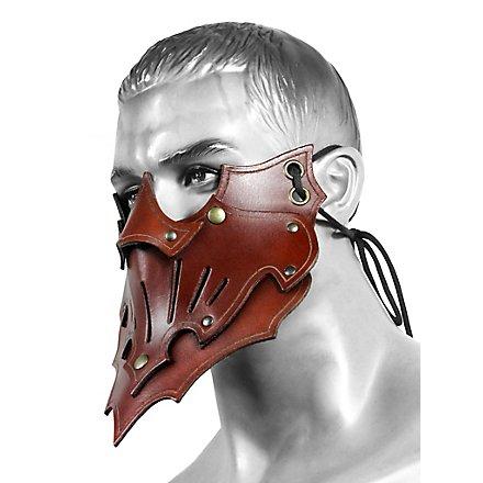 Assassinenmaske Schatten braun