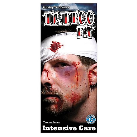 Bluterguss Klebe-Tattoo