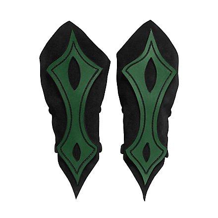 Bogenschütze Armschienen grün