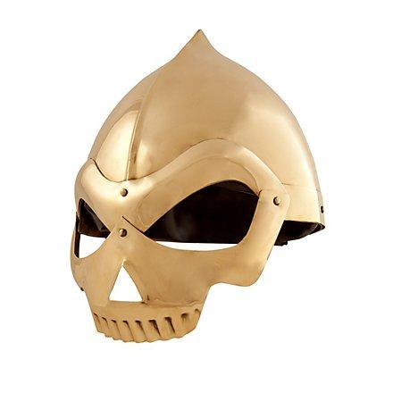 Brass Skull Helmet