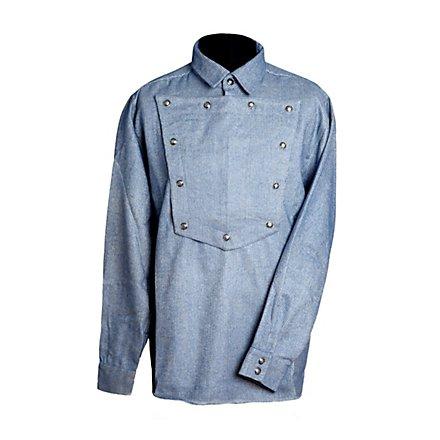 Cowboyhemd graublau