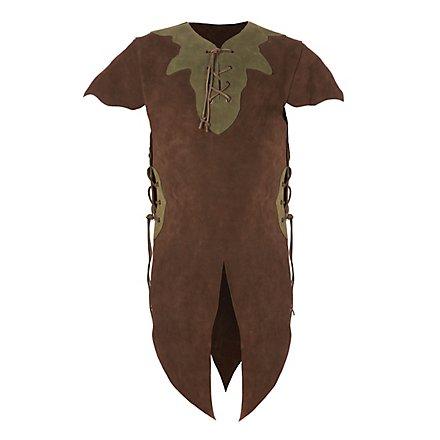 Elfe Kinderrüstung dunkelbraun
