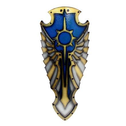 Engel Schild blau Polsterwaffe