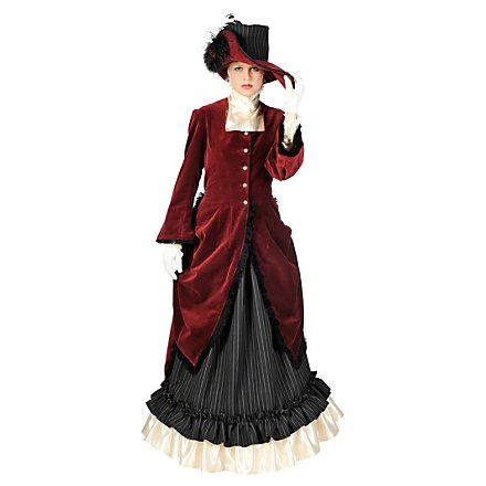 Englische Dame Kostüm
