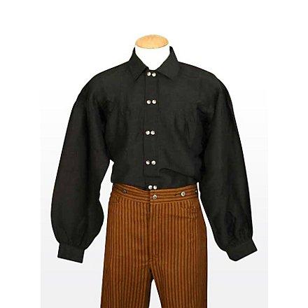 Farmerhemd schwarz