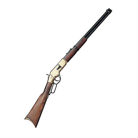 "Gewehr ""Winchester"" messing Dekowaffe"