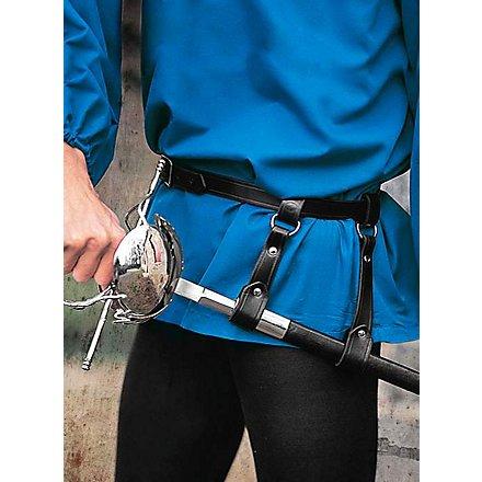 Gürtel mit zweilaschigem Schwertgehänge