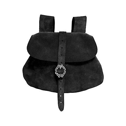 Gürteltasche aus Leder schwarz