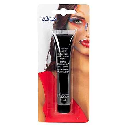Schwarze Make-up Creme Halloween Schminke