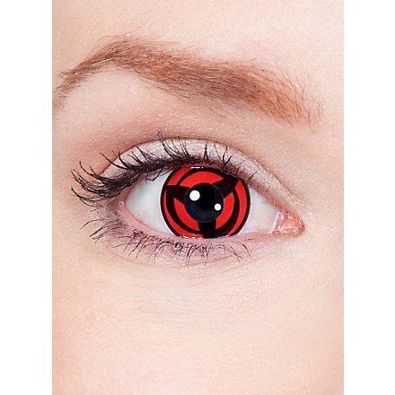 Kakashis Mangekyou Sharingan Kontaktlinsen