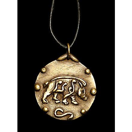 Keltisches Eber Medaillon