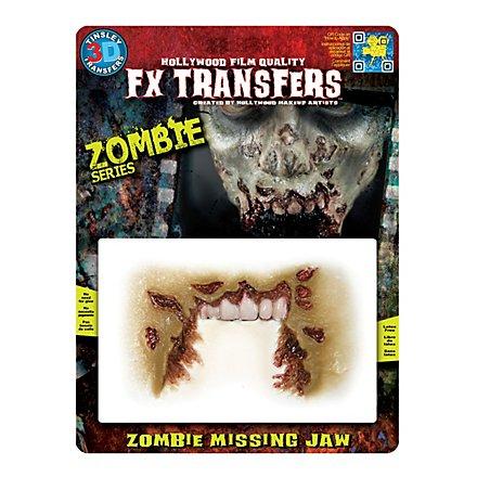 Kieferloser Zombie 3D FX Transfers