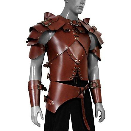 Kit d'armure - Brigand (marron)