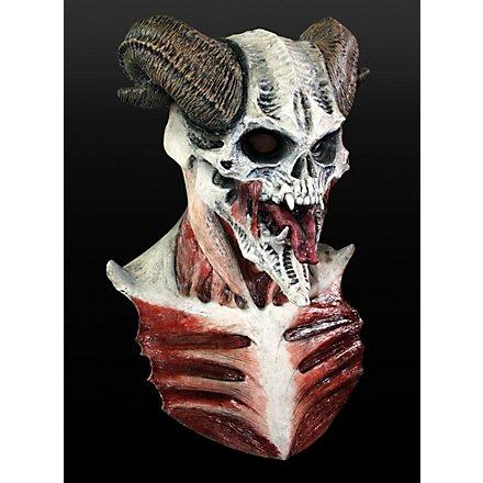 Knochendämon Maske aus Latex