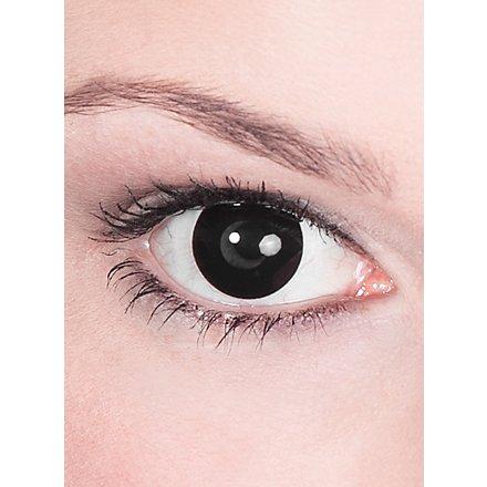 Kontaktlinse schwarz mit Dioptrien