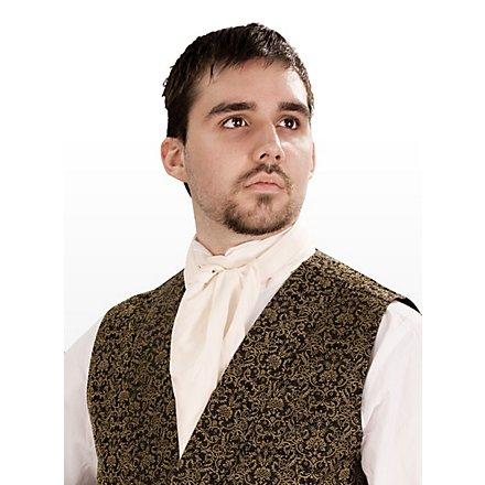Krawattenschal weiß