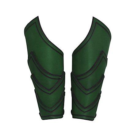 Kriegsherr Armschienen grün