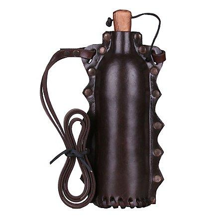 LARP Trinkflasche braun