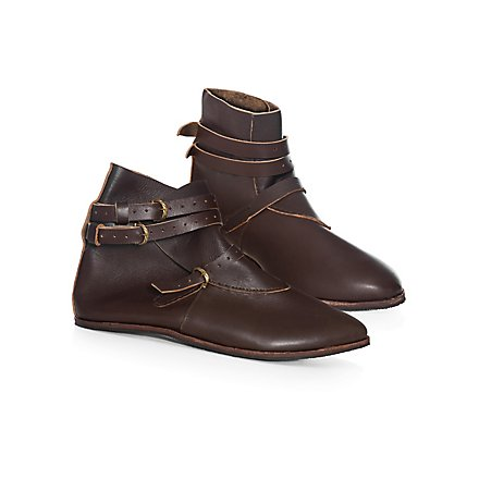 a712f6973b Medieval half boot with 3 buckles - Thielemann - andracor.com