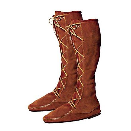 Mittelalter Stiefel braun