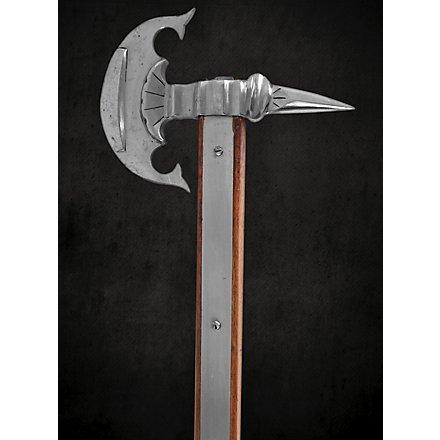 Renaissance battle axe with raven beak - B-Ware