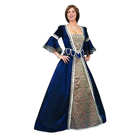 Renaissance Kleid blau