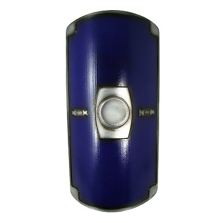 Römerschild Scutum blau Polsterwaffe