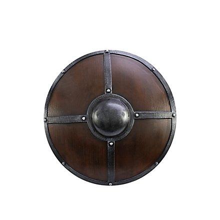 Rundschild - Eisenbeschlagen (60cm)
