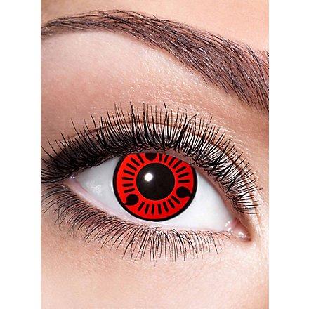 Sasuke Sharingan Kontaktlinse mit Dioptrien