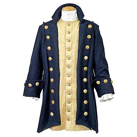 Seeräuber Mantel blau