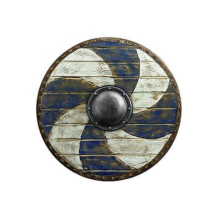 Thegn Shield - Blue/White - ø70 cm