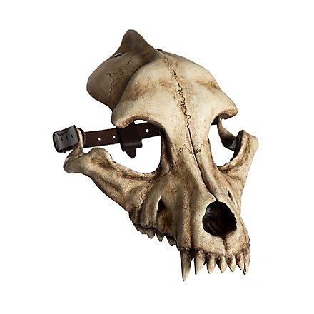 Tiermaske - Wolfsschädel