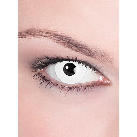 weiße Kontaktlinsen Untoter
