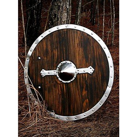 Viking Shield with Steel Rim