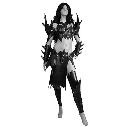 Leather Armour Set Drow Warrior Deluxe Andracor