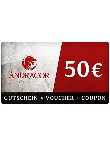 Andracor Geschenkgutschein 50,- €