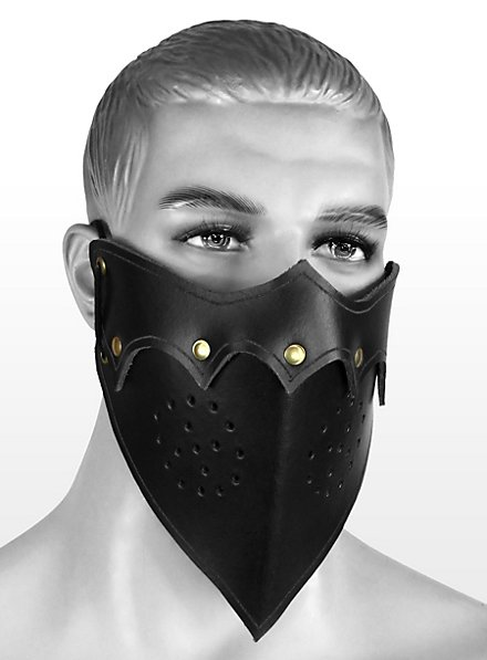 Assassinenmaske schwarz