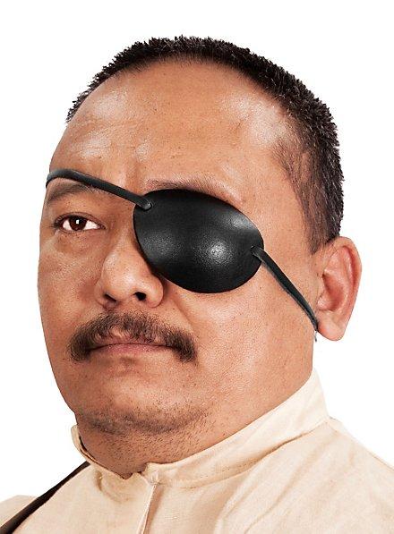 Augenklappe aus Leder links