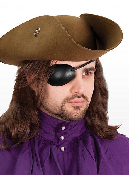 Augenklappe aus Leder rechts