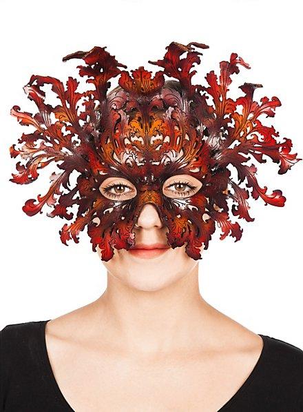 Barockmaske braun