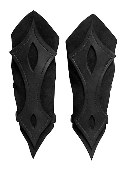 Bogenschütze Armschienen schwarz