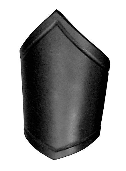 Brassard en cuir noir