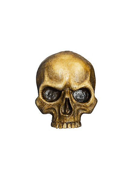 Crâne décoratif en résine (petit)
