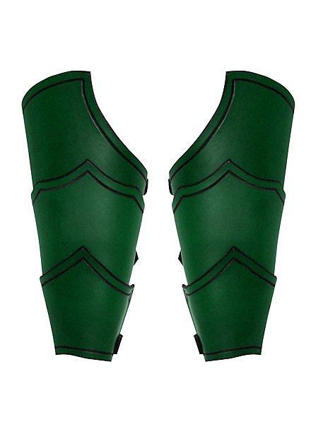 Drachenreiter Armschienen grün