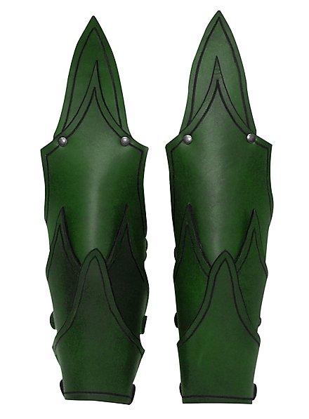 Dunkelelf Armschienen grün