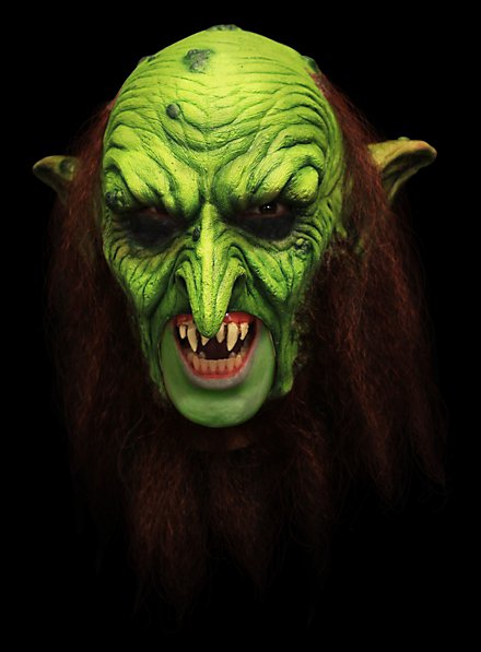 Goblin Hexenmeister Deluxe Kinnlose Maske