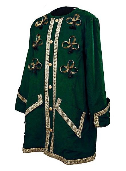 Kapitänsmantel grün